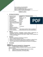 Silabo de Estadistica 2013-2