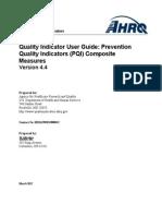 Composite User Technical Specification PQI V4.4
