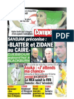 Edition 21 Octobre 2009