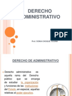 Diapositivas de Derecho Administrativo