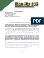 Press Release Hamilton HD 032114