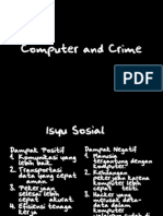 Computer and Crime
