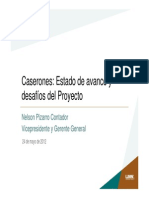 Caserones Estado de Avances y Desafíos del proyectos