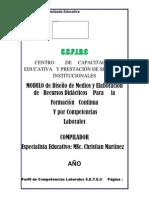 CENTRO         DE     CAPACITACIÓN EDUCATIVA  RECURSOS DIDACTICO Y TICs DE AULA