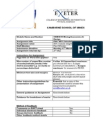 CSM3044 Assignment PW1 NPV 2014