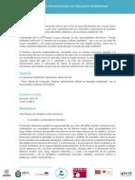 Ficha Máster Universitario Oficial en Derecho Ambiental