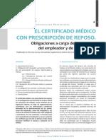 certificado médico