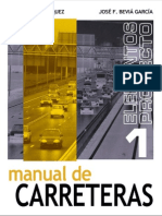 manual de carreteras - vol I - luis bañon