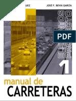 manual de carreteras - vol I - luis bañon