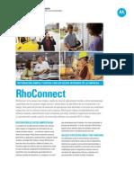 MOT RhoConnect SpecSheet ES 091013