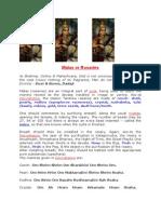 Malas and Rosaries