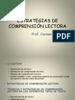ESTRATEGIAS DE COMPRENSIÓN LECTORA. CARMEN