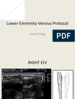 lower extremity venous protocol