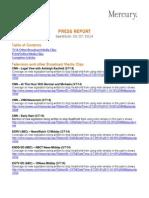 Media Coverage of California Blackfish Bill AB-2140