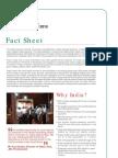 India Road Show 2010_Fact Sheet