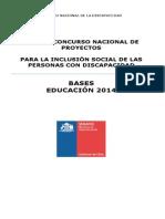 Bases EDUCACIÓN 2014