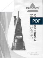 Bissell Premier User Guide Owners Manual 47A2 80R4 17N4 36Z9 Series
