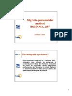 Migratia Personalului Medical AG 10031413