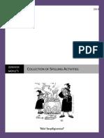 2010 Spelling Activities