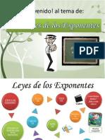 Exponentes y Leyes
