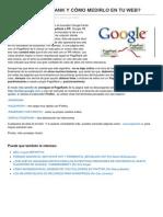 Redeseo.com-que Es El Pagerank y Como Medirlo en Tu Web