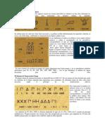 El Sistema de Numeración en diferentes culturas