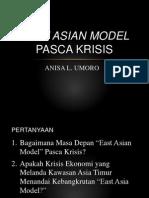 East Asian Model Pasca Krisis