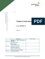Manual de Trabajo en Lineas Desenergizadas