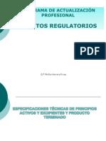 Asuntos Regulatorios Medicamentos Setiembre 2013 II