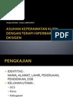 Asuhan Keperawatan Klien Dengan Terapi Hiperbarik Oksigen(1)