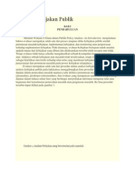Evaluasi Kebijakan Publik (w.dunn)