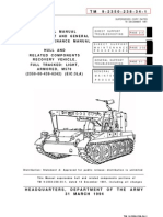 Tm 9-2350-238-34-1 Recovery Vehicle, Full-tracked Light, Armored, m578