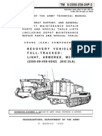 Tm 9-2350-238-24p-2 Recovery Vehicle, Full-tracked Light, Armored, m578