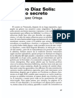 Gustavo Diaz Solis Un Arco Secreto
