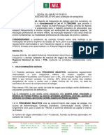 Edital Iel-Ac Estagio
