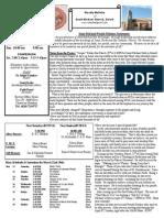 St. Michael's March 23, 2014 Bulletin