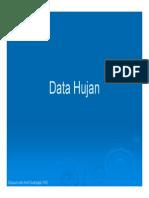 Kuliah 2 Hidrologi -Data Hujan