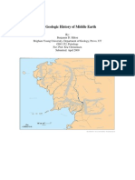 Geology of middle earth