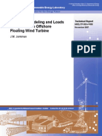 Dynamics Modeling and Loads Analysis of an Offshore Floating Wind Turbine