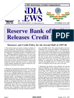 Credit Policy of RBI