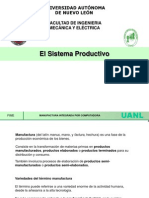 Sistema Productivo Fundamentos