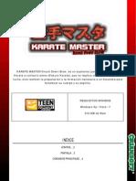 Karate Master Kdb Manual Esp