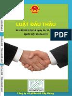 Giaxaydung.vn 43 2013 QH13 Luat Dau Thau So 43.Ban Cuoi Bia