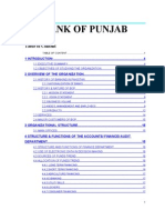 Bank of Punjab Finance Report