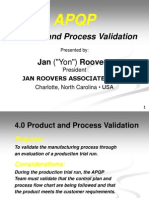 Apqp Product and Process Validation