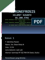 Hidronefrosis Radiologi