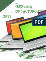 Microsoft Customers using AutoRoute 2011 - Sales Intelligence™ Report