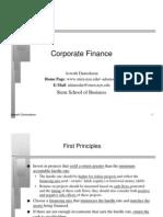 02.Damodaran - Corporate Finance