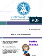 Vedic Mathematics Worlds Fastest Mental Math System