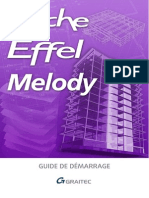 Arche Effel Melody 2009 - Guide de démarrage